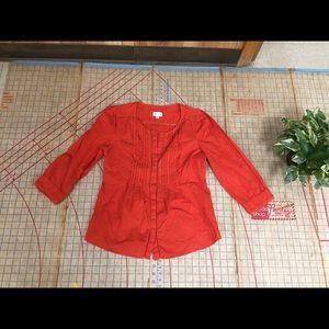 Meadow rue blouse size medium
